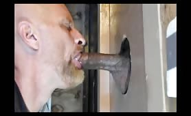 repairman came to try the glory hole