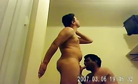 hidden cam shows Married Uncle fucking his nephew..