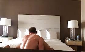 Spy cam married Dude hotel breeding