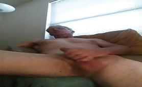 Cute Country Daddy jacks his big dick in this one minute vid that ends in a huge, dripping load