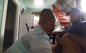 getting a blowjob from my gay uncle