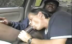 black Homeless gets sucked by white guy and ends up in his mouth twice