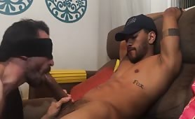 Blowing my straight hung  friend andy