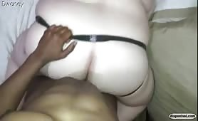 Getting it to a chubby married ass