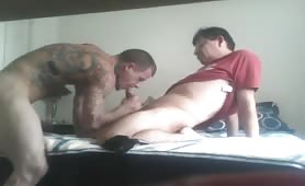 Thug gets pounded by a mature married man for money