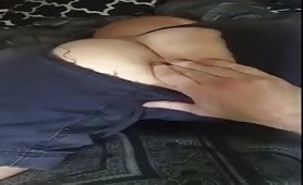 Horny str8 uncle came to fuck me right in the backyard of that house