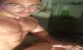 Muscle str8 stud fuck a tasty sissy gay ass