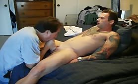 Servicing a str8 married guy