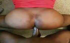 Str8 big black bull nailing a huge fat butt