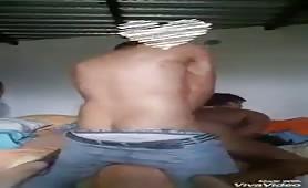 Straight guy fucks his neighbor before going to work