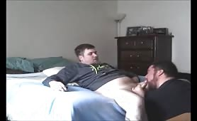 Sucking a cute young straight guy from craigslist
