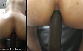Straight black escort fucking one of his fans