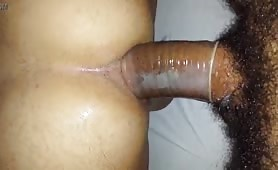 Latino straight enjoying a tasty white tight ass
