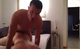 Str8 dominant top pounds a college horny dude