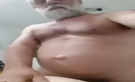 Big married Iranian grandpa fucking a horny friend