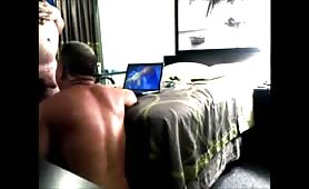 painter at motel comes into my room for some raw ass