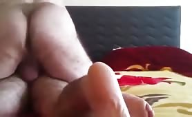 Arab big ass daddy fucking his married friend